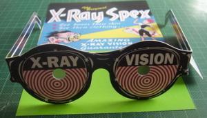 Lentes De Rayos Equis (juguete) X ray Spex (toy)
