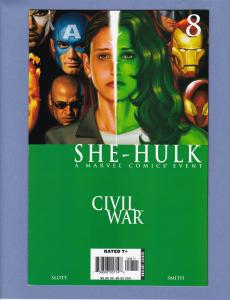 She-Hulk #8 VF Civil War