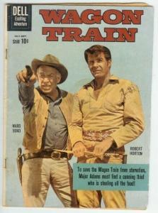 WAGON TRAIN (1958-1962 DELL) 6 GOOD photo cover: ROBERT COMICS BOOK