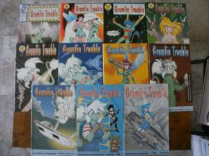 11 ABP GREMLIN TROUBLE Comic Book: #1 5 10 17 18 19 21 22 23 26 29