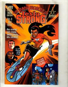 7 Comics Tesla Strong #1, Tom Strong Family #13, Terrific Tales #1 2 3 4 5 J344