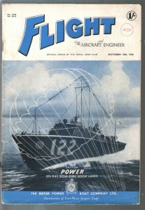 Flight 10/18/1942-aviation photos-air war stories-WWII era-Power Boat #122-VG+