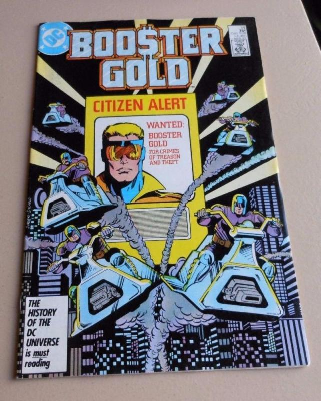 BOOSTER GOLD #14, VF/NM, DeCarlo,  DC, 1986 1987,  more in store