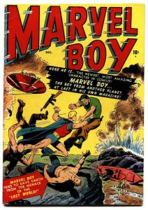 Marvel Boy #1 1950- Atlas Superhero book- Origin issue-RARE