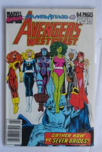Avengers West Coast Annual 4