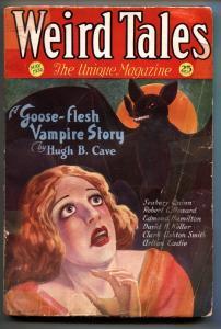 Weird Tales 5/1932-Vampire cover-Frankenstein-Pulp Magazine