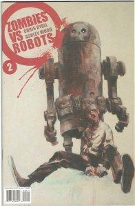 Zombies vs Robots #2 IDW Ashley Wood NM