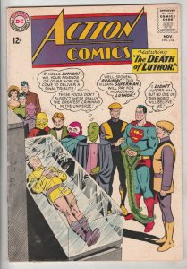 Action Comics #318 (Nov-64) VF High-Grade Superman, Supergirl