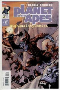 PLANET of the APES #3, NM+, Adrian Sibar, Ian Edginton, 2001, more in store