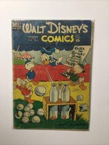 Walt Disneys Comics 12 September 1950 Good Gd 2.0 Dell Publishing