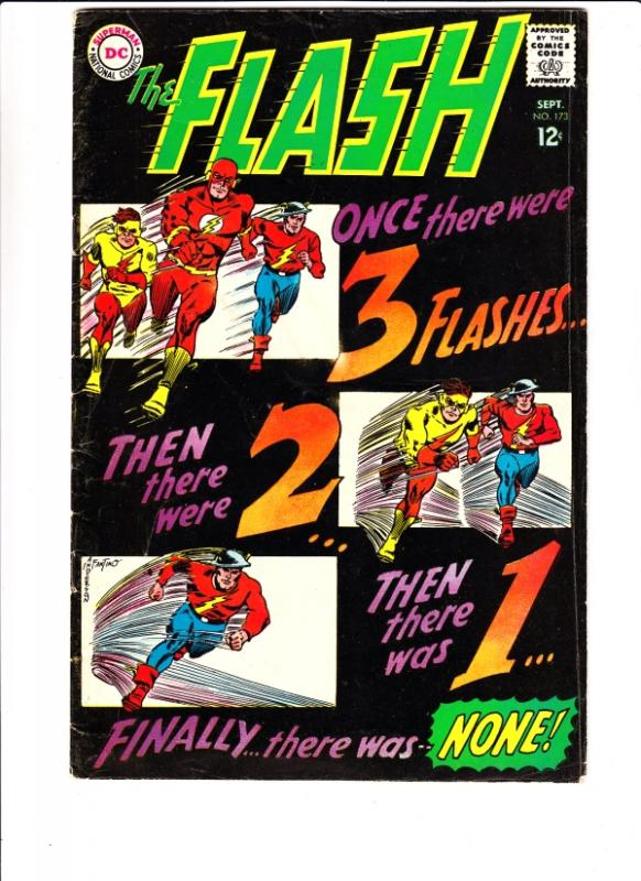 Flash, The #173 (Sep-67) VG/FN+ Mid-Grade Flash
