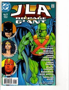 5 JLA DC Comics 80 Page Giant # 1 2 3 + Gallery & Midsummer's Nightmare J260