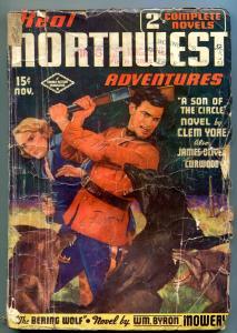 Real Northwest Adventures Pulp November 1936- James Oliver Curwood RCMP