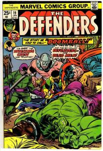 DEFENDERS 19 VG  Jan. 1975 Wrecking Crew COMICS BOOK