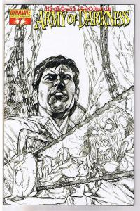 ARMY of DARKNESS #7, NM+, Sketch Variant limited, more AOD in store