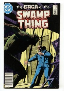 SAGA OF THE SWAMP THING #21 comic book  Alan Moore
