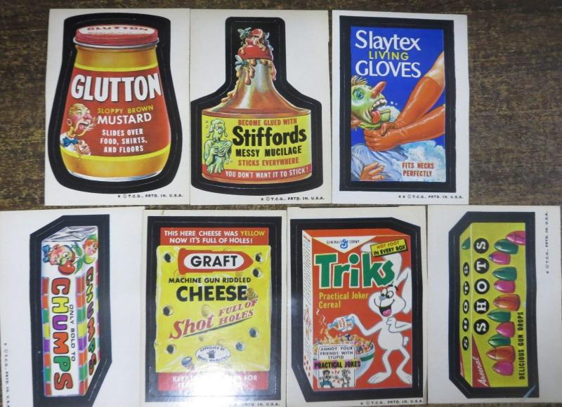 TOPPS WACKY PACKAGES-- 5th SERIES, MISSING ONE! 39 Doubles!