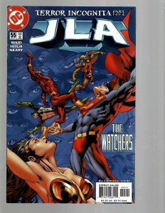 12 DC Comics JLA # 55 59 61 63 68 69 70 71 72 73 74 75 J438