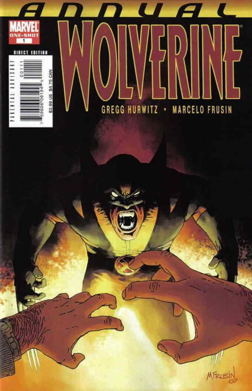Wolverine (Vol. 3) Annual #1 FN; Marvel   save on shipping - details inside