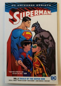 Superman DC Universe Rebirth Vol:2 Trials Of The Super Son TPB First Print NM