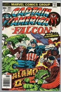 CAPTAIN AMERICA 203 VG-F Nov. 1976