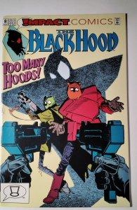 The Black Hood #8 (1992) Impact Comic Book J756