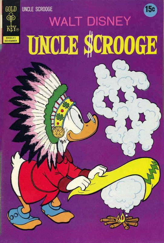 Uncle Scrooge (Walt Disney…) #102 FN; Gold Key   save on shipping - details insi