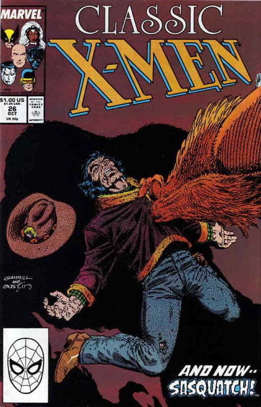Classic X-Men #26 VF/NM; Marvel | save on shipping - details inside