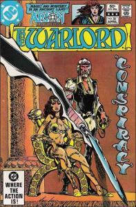 DC WARLORD (1976 Series) #56 VF