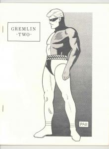 GREMLIN #2 RARE ORIGINAL .1970. FANZINE - NEAL ADAMS - DITKO - STERANKO - H VF