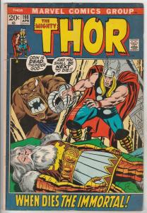 Thor, the Mighty #198 (Apr-72) VG/FN+ Mid-Grade Thor