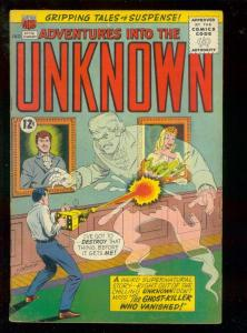 ADVENTURES INTO THE UNKNOWN #146 1964-RAY GUN-HORROR VG