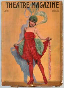 Theatre 8/1917-Frances White-Ina Claire-Ziegfeld-Clara Kimball-Pickford-G