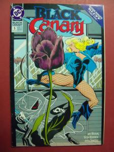 BLACK CANARY #5  VF/NM OR BETTER DC COMICS