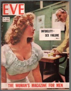 Eve  #1 2/1950-Gambit-Iriah McCalla-Sheena-Jefferson MacHamer-1st issue-VG-