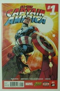 All New Captain America Sam Wilson Cap Full Appearance - HIGH GRADE!