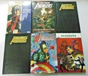 Avengers Hardcover lot 6 different books used (years vary)
