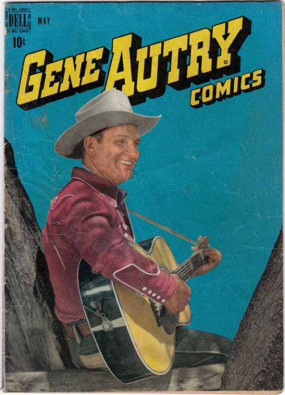 Gene Autry Comics #15 (May-48) VG Affordable-Grade Gene Autry