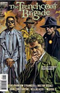 Trenchcoat Brigade #1 VF/NM; DC/Vertigo | save on shipping - details inside