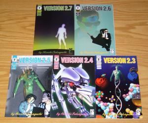 Version 1.1-1.8 & 2.1-2.7 VF/NM complete series  dark horse studio proteus manga