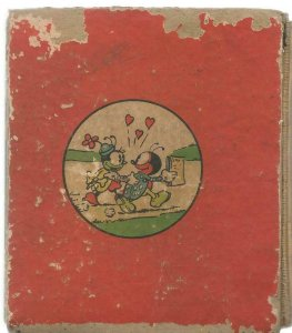 Mickey Mouse Silly Symphonies ORIGINAL Vintage 1936 Whitman Big Little Book