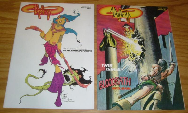 Mayhem #1-2 VF/NM complete series - underground comix - neal adams - brunner