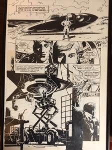 STARMAN #77 PAGE 13 PETER SNEJBERG JACK KNIGHT! 1950'S STARMAN!