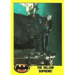 1989 Batman The Movie Series 2 Topps THE VILLAIN SUPREME! #212