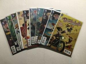 Dc Comics Bombshells 1-18 Annual 1 Lot Run Set Near Mint Nm Dc Comics