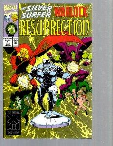 12 Comics Resurrection 1 2 4 Illuminati 1 2 3 4 Sub-Mariner 1 2 3 X-Men #1 EK17