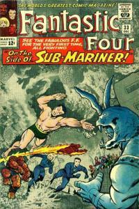 Fantastic Four (Vol. 1) #33 VG; Marvel | low grade comic - save on shipping - de