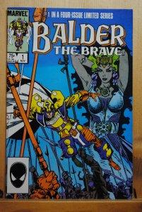 Balder the Brave #1 (1985) VF+