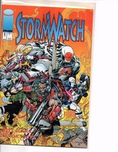 Image Comics (Vol. 1) Stormwatch #1 Jim Lee