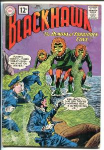 BLACKHAWK #167 1961-DC-1ST 12¢ COVER PRICE-good minus